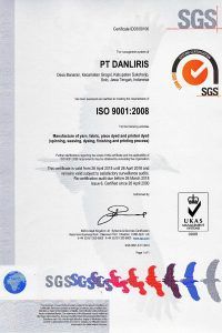 Sertifikat ISO Tekstil (260415-260418)