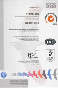 iso 2015 textiles
